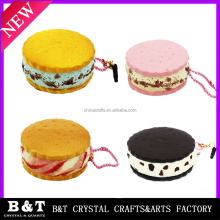 New designs Super soft Squishy Kawaii bun Sandwich Biscuit shape squishy bread Squeeze toy