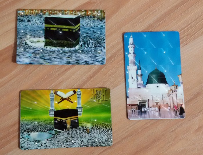 Can be customized Crystal Refrigerator Magnet Ramadan Gifts