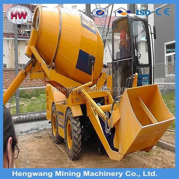 widely used for construction tractor mounted cement mixers