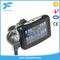 Reduce the damage to the vehicle parts car external sensor LCD high definition display tpms