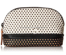 high quality fashion polka dot cosmetic bags cases