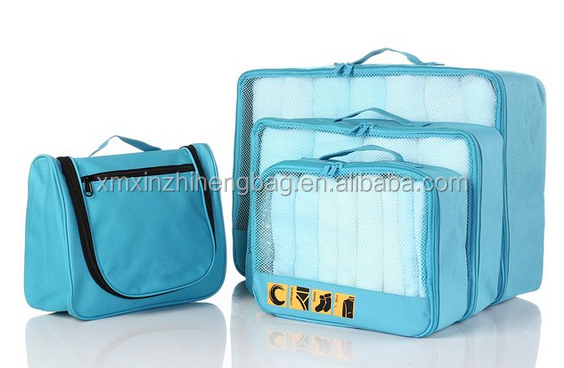 new street fashion packing cubes for travel toiletry bag travel cosmetic bag