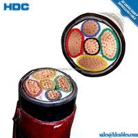 2 core 3 core 4 core low high voltage pvc underground xlpe insulated standard submersible power cables