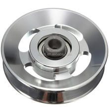 Customized Aluminum Bearing Pulley Wheel for Gym Fitness Equipment Parts