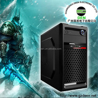 Black Edition ATX Mid Tower PC Gaming Chassis HDD Trays USB case