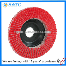 high safety ceramic alumina flap disc for grinding metal and steel