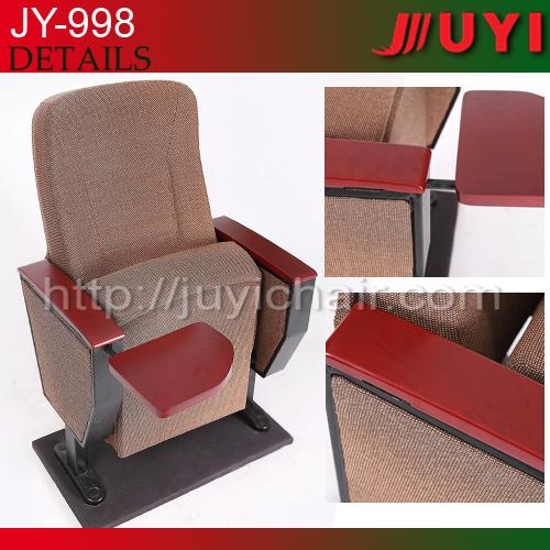 Jy 998m Red Wooden Fabric Cushion Ergonomic Folding