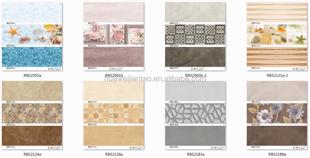 3d Inkjet china factory floor tiles bangladesh price ceramic wall ...