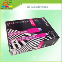 Factory direct PP box, Lenticular pp plastic wine packaging box