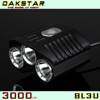 DAKSTAR BL3U 3000LM XML U2 High Quality Rechargeable LED Bike Light