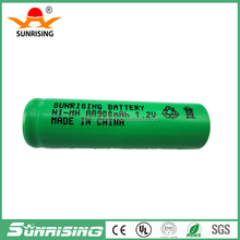china manufactrue 1.2v AA900mAh ni-mh rechargeable battery solar battery