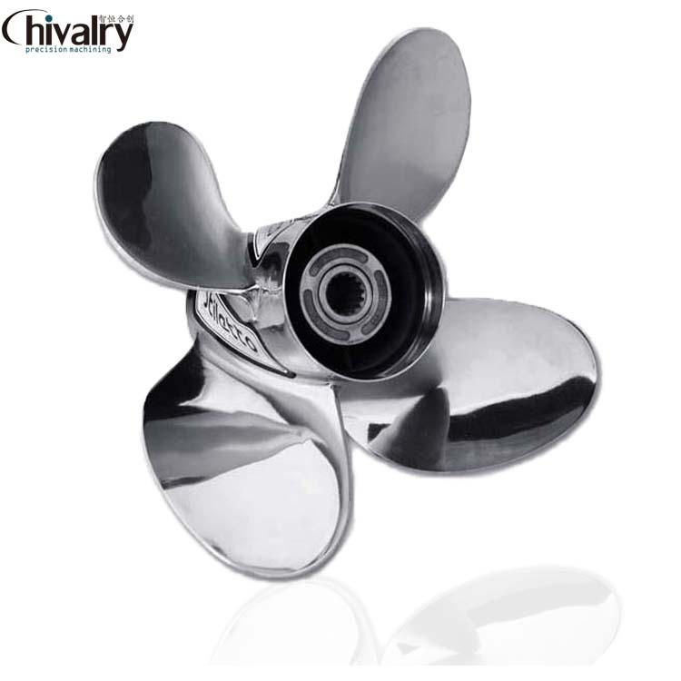 Customized high precision 3 blade jet ski stainless steel propeller