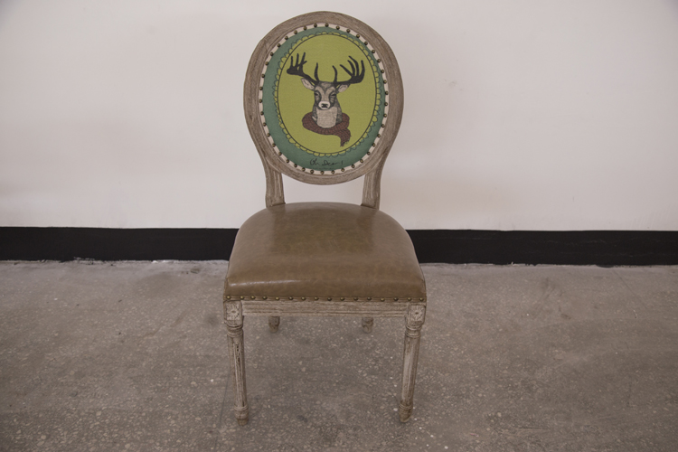 Fashion ODM antique reproduction french dining chair