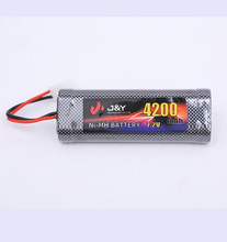 NiMH 7.2v 4600mAh battery pack for radio control rc car