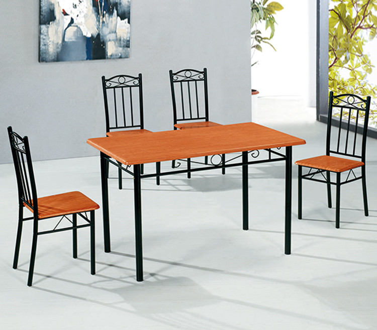 Particleboard dining table chairs ,table and chairs , cheap dining set