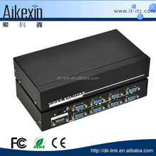 8 Port High Speed VGA Video Splitter One video input to 8 video outputs 250 MHz
