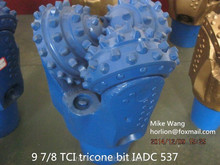 TCI rock tricone bit with tungsten carbide insert teeth for hard formation granite