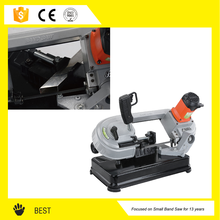 electrical 4 inch hand wood format panel tool band saw cutting machine price
