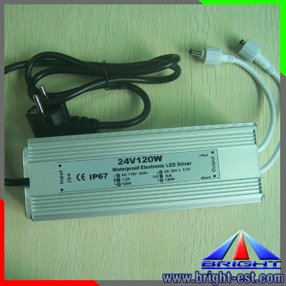 Waterproof led power supply IP67,high power with CE&RoHs approve