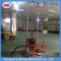 Small 150m deep drilling rig machine water well drilling equipment