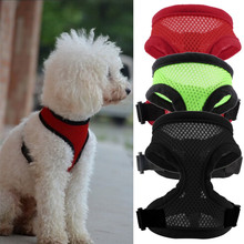 3 Colors Nylon Pet Mesh dog Harness Strap Vest Collar For Small Medium-sized Dog leads Puppy Comfort Harness