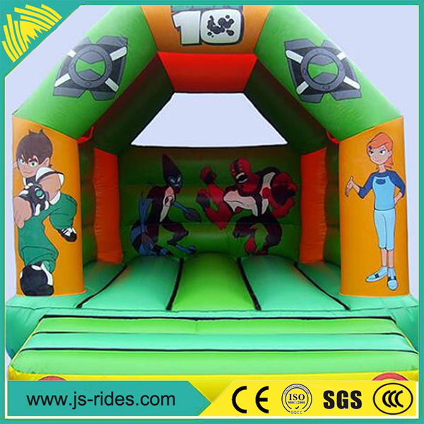 2017 popular commercial used air bouncer inflatable trampoline on sale