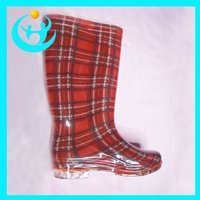 Fashion Spring PVC Rain Boot