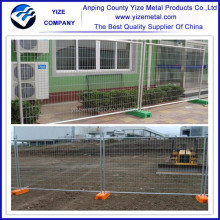 steel wire high quality galvanized used construction chain link fence for sale
