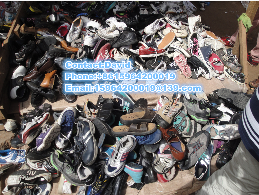 second hand used clothing and shoes