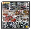 YBR motorcycle side cover high quality motorcycle fairings and plastic parts