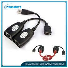 Usb 2.0 a male to rj45 male ,H0T020 lan to usb converter for sale