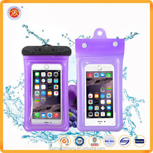 Pvc Waterproof Arm Pouch For Mobile Phone Water Resistant Beach Bag