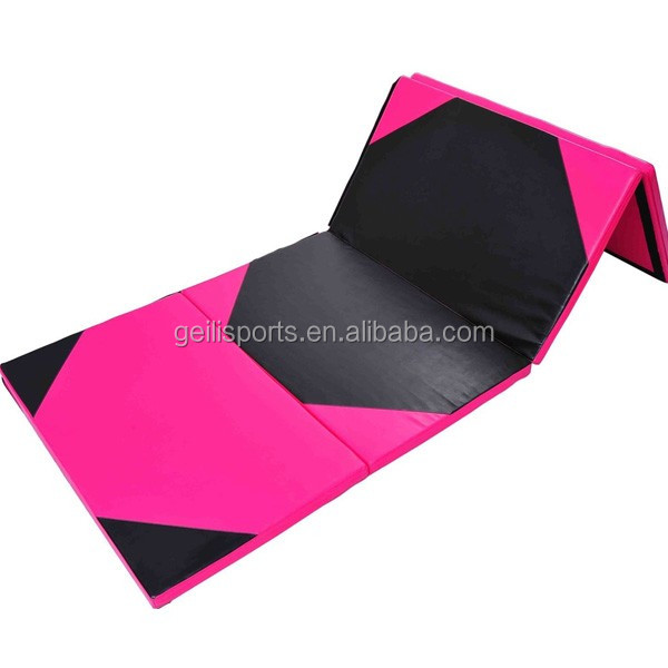 2015 new premium Inflatable folding gymnastics mats