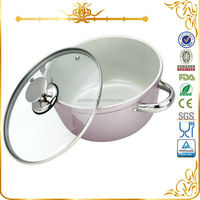 MSF-6056 novelty houseware aluminum household cooking pots large cooking pots for sale with hollow handles