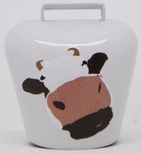 small metal cow bell promo cowbell fridge magnet wholesale