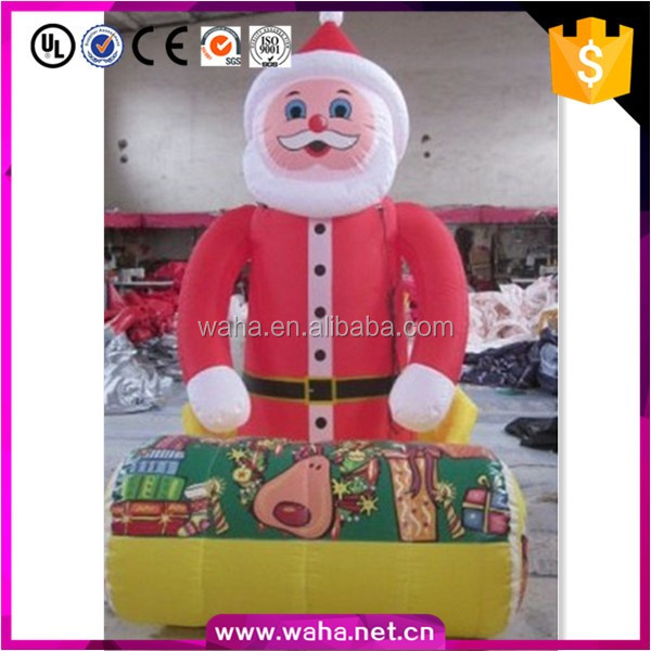 Lovey Christmas decoration inflatable santa claus 3m~10m