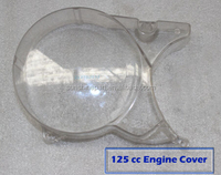 Dirt Pit bike Magneto Engine Cover Cut Away clear side casing