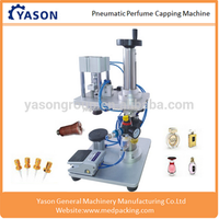 Best-seller Pneumatic Perfume Capping Machine for Perfume Spray Cap