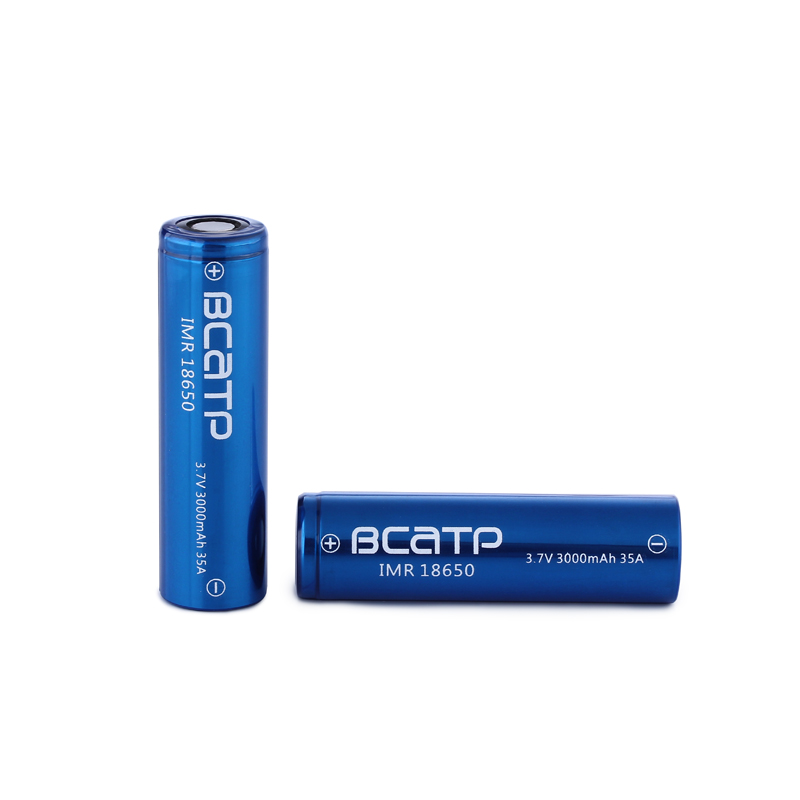 lithium ion 18650 battery wholesale BCATP 3000mah 18650 3.7v rechargerable battery