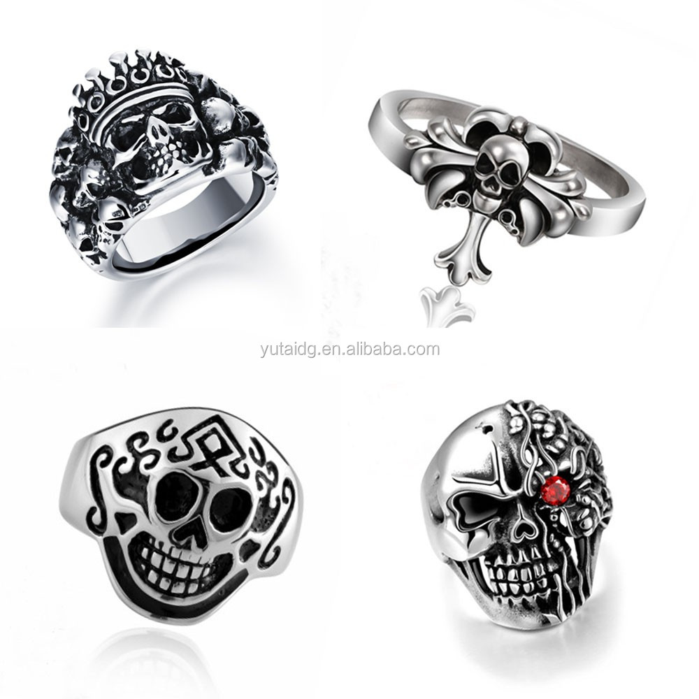 jingli jewelry custom unique stainless steel ring high