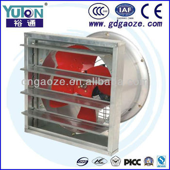 SF-G Series AC Axial Fan With Shutter