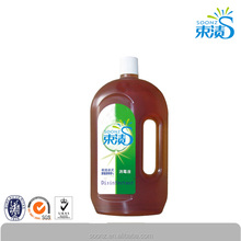 hydrogen peroxide disinfectant with organic chemicals
