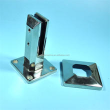 Stainless Steel Square Spigots Frameless Pool Deck Fence Glass Spigot