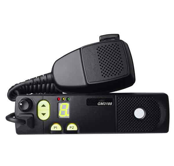 25W durable car radio transceiver GM-3188 GM3688 EM200 Commercial Series Mobile radio GM3188