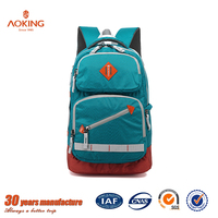 Wholesale new design high class student backpack girls school bag