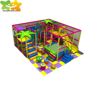 arrtractive slide kid's indoor playground play land