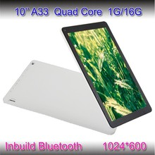 Letine new tablet 10 inch android 4.4 super smart tablet pc A33 quad core tablet 10 1G/16G, 1024*600, with Bluetooth on stock