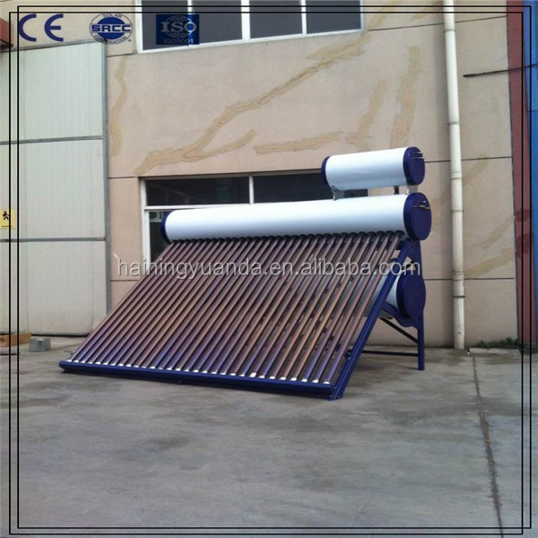Ultra-Large Capacity Solar Energy Hot Water Heater System