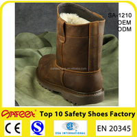 China TOP Quality and Good Price Factory Labor-Protective High-ankle Steel Toe Safety Working Boots SA-3301