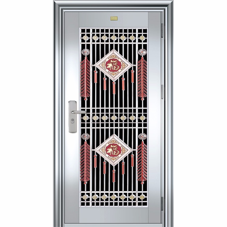 Window grill design stainless steel door JH453